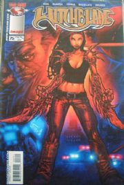Witchblade #75 Dynamic Forces Gold Foil Variant DF COA Ltd 500 Top Cow comic book